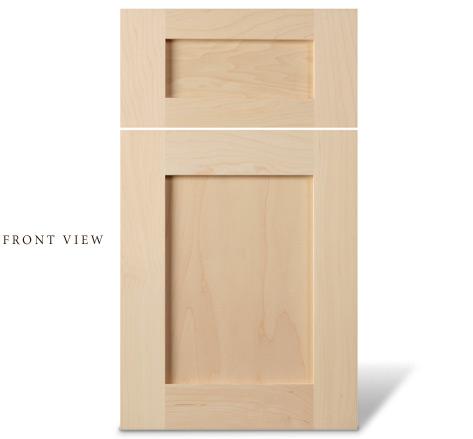 cabinet door: shaker style